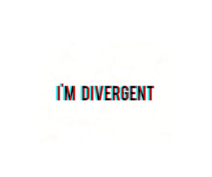 divergent and overlay image