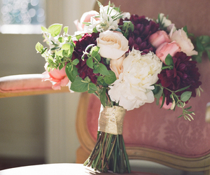 <3, beautiful, and bouquet image