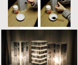 diy, lamp, and photo image
