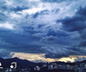 beautiful, clouds, and dark image