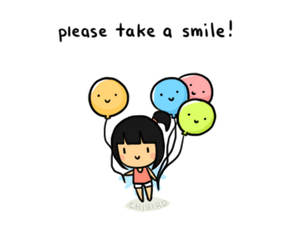 please, smile, and cute image