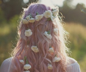 beautiful, indie, and flower image