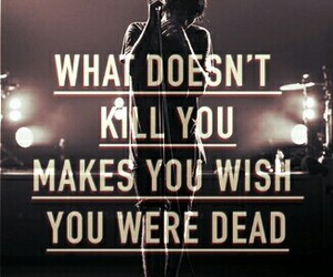 bmth, drown, and quote image