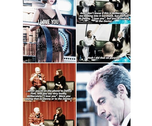 doctor who, I Love You, and OMG image