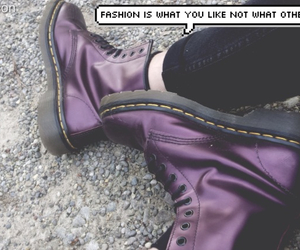 doc martens, fashion, and grunge image