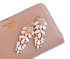 fashion, Prada, and earrings image