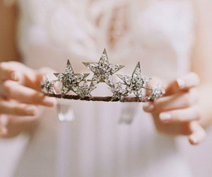 tiara, crown, and girl image
