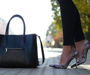bag, beautiful, and fall image