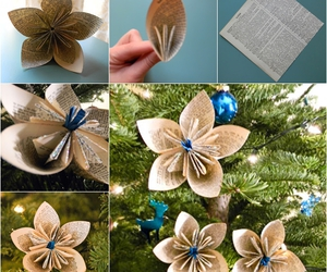 diy, christmas, and flowers image
