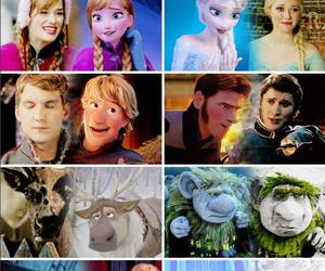 anna, marshmallow, and olaf image