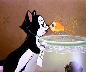 disney, cat, and figaro image