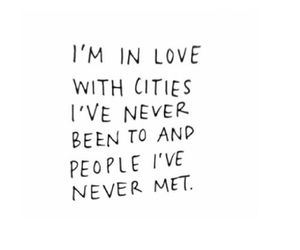 quote, city, and people image