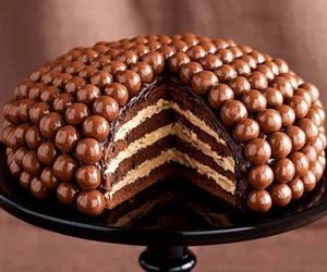 cake, chocolate, and photography image