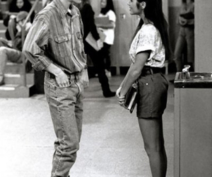 saved by the bell, black and white, and 90s image