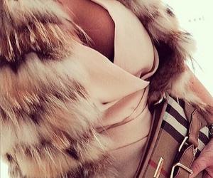 fashion, fur, and kiss image