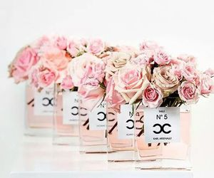 pink, chanel, and rose image