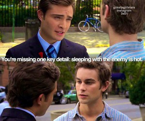 chuck, gossip girl, and nate image