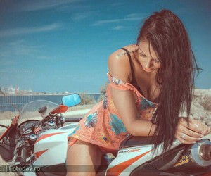 awesome, beach, and brunette image