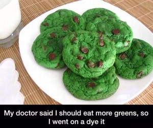 funny, Cookies, and diet image