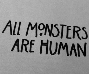 monster, true, and american horror story image