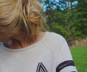 fall, hair, and hairstyle image