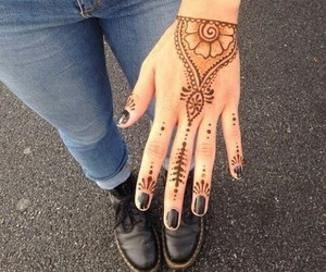 henna, grunge, and indie image
