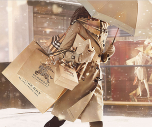 Burberry, fashion, and winter image