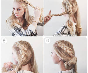 braid, elegant, and the beauty department image