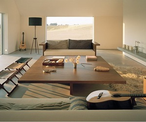 living room, architecture, and design image
