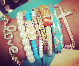 bracelet, fashion, and beautiful image