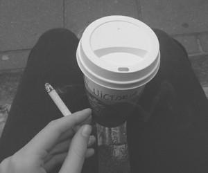 grunge, cigarette, and black image