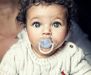 baby, lovely, and blue image