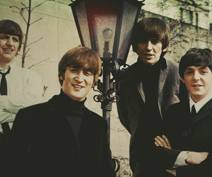the beatles, Paul McCartney, and john lennon image