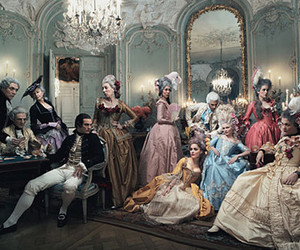 marie antoinette, vogue, and Kirsten Dunst image
