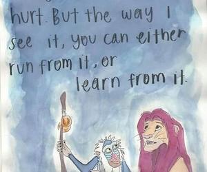 animation, hurt, and lion king image