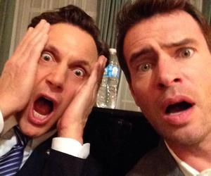 scandal, scott foley, and tony goldwyn image