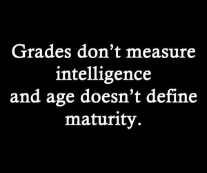 intelligence, age, and grades image