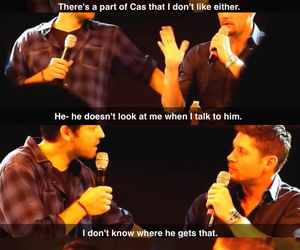 dean, funny, and jensen image