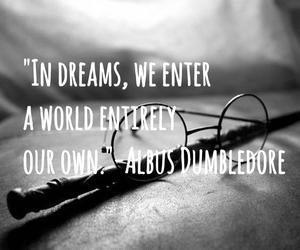 dreams, dumbledore, and harrypotter image