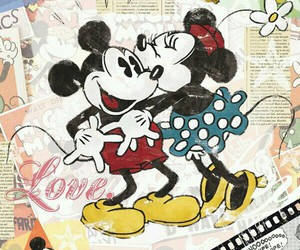 disney, love, and mickey image