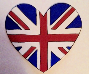 england, heart, and london image