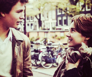 the fault in our stars, hazel, and augustus waters image