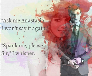 Jamie Dornan, quote, and christian grey image
