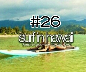26, hawaii, and surf image