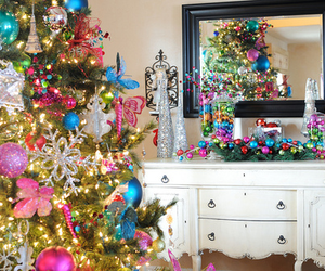 christmas, pretty, and decoration image
