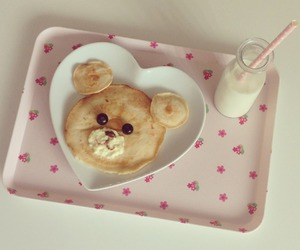 cute, food, and milk image