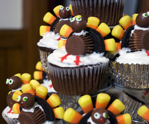 cupcakes, recipes, and thanksgiving cupcakes image