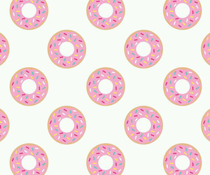 donut, wallpaper, and cute image