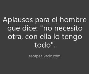 lindo, phrase, and hombres image