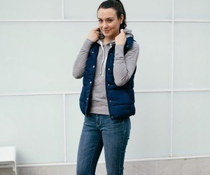 casual, denim, and fall image